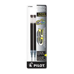 Pilot Refill for G2 Gel, Dr. Grip Gel/Ltd, ExecuGel G6, Q7, Fine Tip, Black, 2/Pack