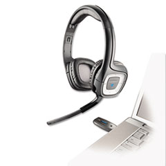 Plantronics .Audio 995 USB Wireless Stereo Headset w/Noise Canceling Mic