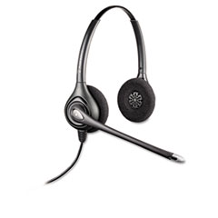 Plantronics SupraPlus Over-Head Cord Telephone Wideband Headset