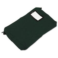 PM Company Expandable Dark Green Transit Sack, 18w x 4d x 14h