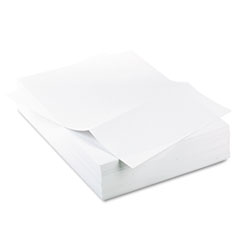"Office Paper, Perforated 3-1/2"" From Bottom, 8-1/2 x 11, 20-lb., 500/Ream"