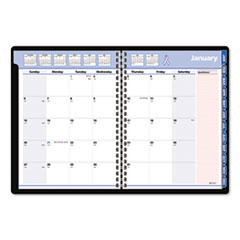 AT-A-GLANCE QuickNotes Special Edition Recycled Monthly Planner, Black, 8 1/4 x 10 7/8, 2014