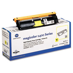 1710587005 High-Yield Toner, 4500 Page-Yield, Yellow