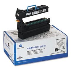 Konica Minolta 1710602005 High-Yield Toner, 12000 Page-Yield, Black