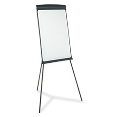 Tripod-Style Easel, Dry-Erase, 27 x 35, Framed