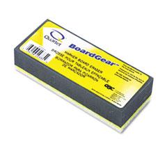Quartet BoardGear Dry Erase Board Eraser, Foam, 5w x 3d x 1h
