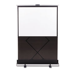 Quartet Euro Portable Cinema Screen w/Black Carrying Case, 60