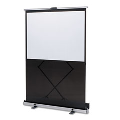 Quartet Euro Portable Cinema Screen w/Black Carrying Case, 80