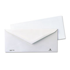Quality Park Business Envelope, Contemporary, #10, White, Recycled, 1000/Box
