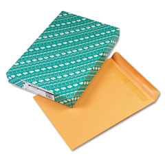 Redi-Seal Catalog Envelope, 12 x 15 1/2, Brown Kraft, 100/Box