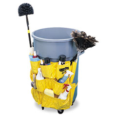 Rubbermaid Commercial Brute Caddy Bag, Yellow