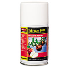 Rubbermaid Commercial Fragrance Aerosolister, Citrus Breeze, 5.3oz Aerosol, 12/Carton