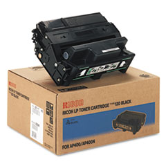Ricoh 400942 Toner, 15000 Page-Yield, Black