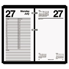AT-A-GLANCE Large Desk Calendar Refill, 4 1/2