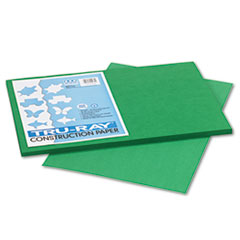 Pacon Tru-Ray Construction Paper, 76 lbs., 12 x 18, Holiday Green, 50 Sheets/Pack