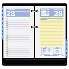 AT-A-GLANCE QuickNotes Recycled Desk Calendar Refill, 3 1/2