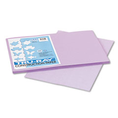 Pacon Tru-Ray Construction Paper, 76 lbs., 12 x 18, Lilac, 50 Sheets/Pack