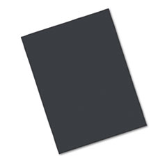 Pacon Riverside Construction Paper, 76 lbs., 18 x 24, Black, 50 Sheets/Pack