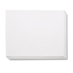 Pacon White Four-Ply Poster Board, 28 x 22, 100/Carton