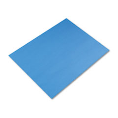 Pacon Colored Four-Ply Poster Board, 28 x 22, Royal Blue, 25/Carton