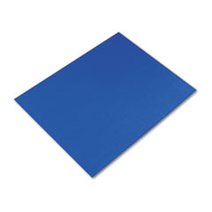 Pacon Colored Four-Ply Poster Board, 28 x 22, Dark Blue, 25/Carton