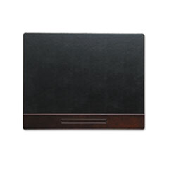 Rolodex Wood Tone Desk Pad, Mahogany, 24 x 19
