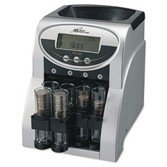 Royal Sovereign Fast Sort FS-2D Digital Coin Sorter, Pennies Through Quarters