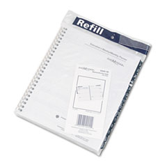 DayMinder Recycled Weekly Refill for G545, Desk, 6 7/8