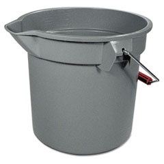 Rubbermaid Commercial 14 Quart Round Utility Bucket, 12
