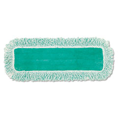 Rubbermaid Commercial Dust Pad w/Fringe, Microfiber, 18