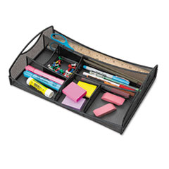 Safco Drawer Organizer, Mesh, Black
