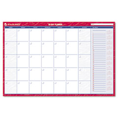 Recycled Horizontal Erasable Wall Planner, 36&quot; x 24&quot;, 2013