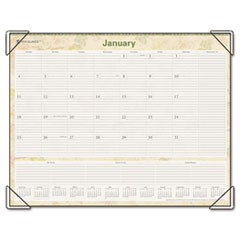 AT-A-GLANCE LifeLinks Recycled Desk Pad, 22