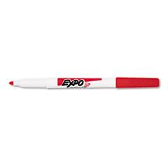 EXPO Low Odor Dry Erase Marker, Fine Point, Red, Dozen