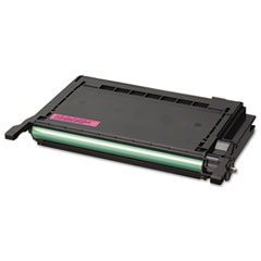 Samsung CLPM600A High-Yield Toner, 4000 Page-Yield, Magenta