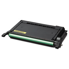 Samsung CLPY600A High-Yield Toner, 4000 Page-Yield, Yellow