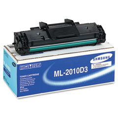 Samsung ML2010D3 Toner/Drum, 3000 Page-Yield, Black