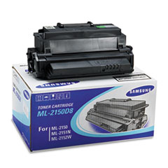 Samsung ML2150D8 Toner/Drum, 8000 Page-Yield, Black