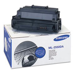 Samsung ML2550DA Toner/Drum Cartridge, 10000 Page Yield, Black