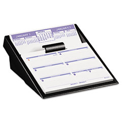AT-A-GLANCE Flip-A-Week Desk Calendar and Base, 5 5/8