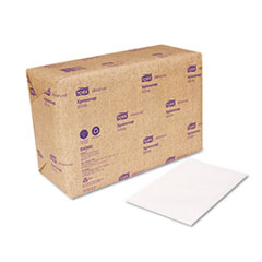 Tork Dispenser Napkins, Interfold, 13w x 8 1/2L, White, 6000/Carton
