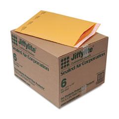 Jiffylite Self-Seal Mailer, Side Seam, #6, 12 1/2 x 19, Golden Brown, 50/Carton