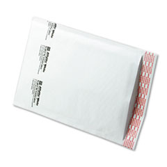 Jiffylite Self-Seal Mailer, Side Seam, #1, 7 1/4 x 12, White, 100/Carton