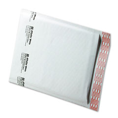 Jiffylite Self-Seal Mailer, Side Seam, #2, 8 1/2 x 12, White, 100/Carton