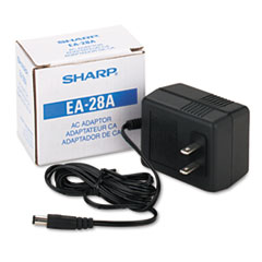SHR EA28A Sharp AC Adapter for Printing Calculators SHREA28A