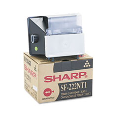 Sharp SF222NT1 High-Yield Toner, 8000 Page-Yield, Black