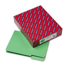 Smead Interior File Folders, 1/3 Cut Top Tab, Letter, Green, 100/Box