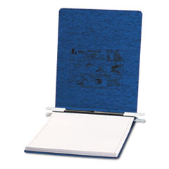 ACCO Pressboard Hanging Data Binder, 9-1/2 x 11 Unburst Sheets, Dark Blue