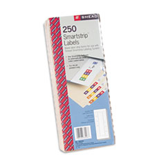 Smead Smartstrip Refill Label Kit, 250 Label Forms/Pack, Inkjet