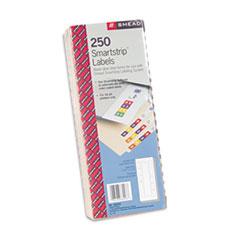 Smead Smartstrip Refill Label Kit, 250 Label Forms/Pack, Inkjet